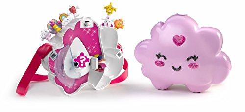 Wizies - Bolsito Nube con asa y 8 figuritas (Famosa 700014292)