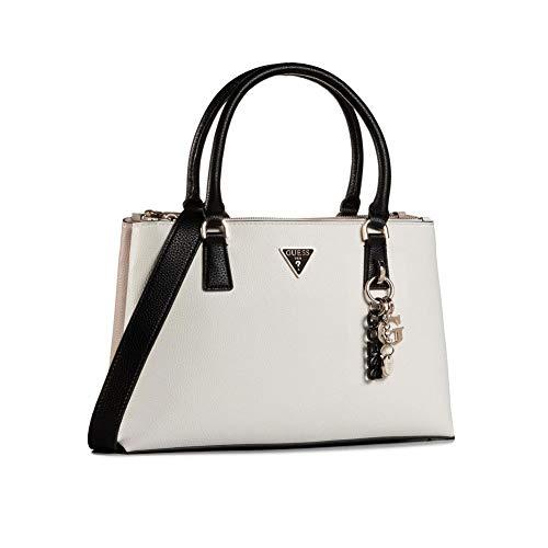 Guess Becca Handtasche beige/weiß