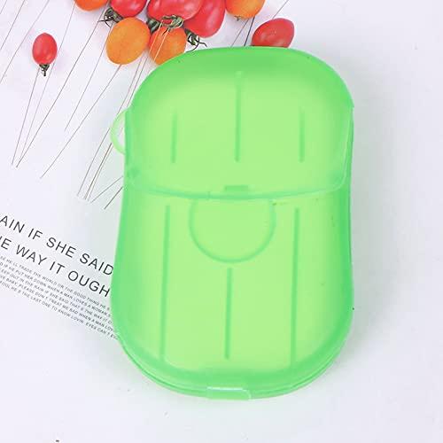 shengna Caja de jabón de madera de bambú de plástico para jabonera, bandeja de almacenamiento para jabón, plato de ducha y baño (color 8)
