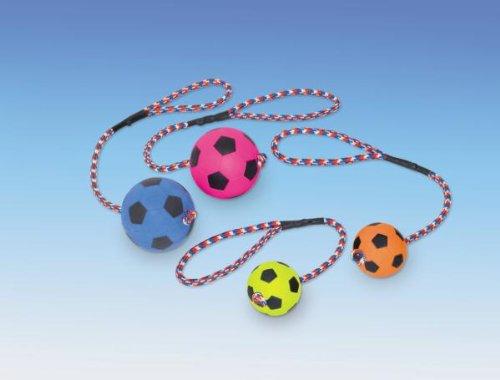 Nobby Moosgummi-Fußball mit Seil