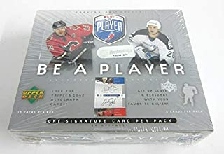 2005/06 Upper Deck Be A Player Signature Hockey Box (Hobby)