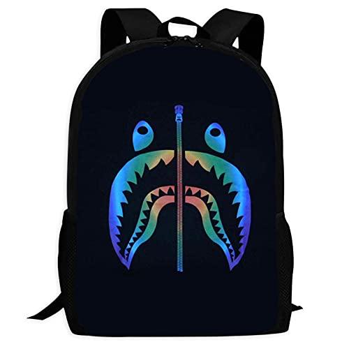 148 Ba-pe Sh-Ark - Mochila escolar para mochila de viaje