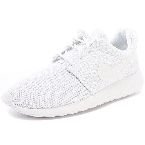 Nike Mens Roshe One Triple White White/White Mesh Size 11