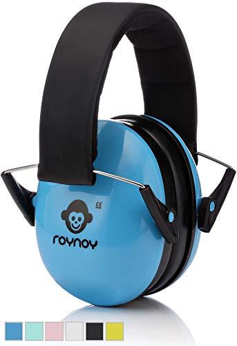 roynoy | Gehörschutz Kinder und Baby | ab 2 Jahre | Ohrenschutz Kinder | Ohrenschützer | Lärmschutz Baby | Lärmschutzkopfhörer Kinder (blau)