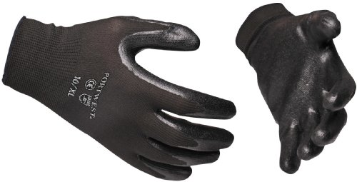 Portwest A320 Paire de gants de protection des mains en nylon Dexti Grip, XXL, noir