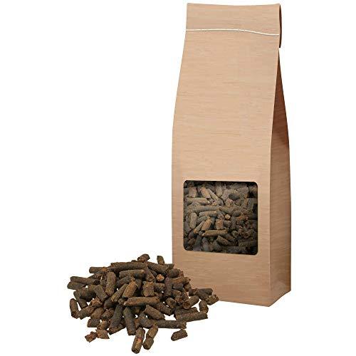 Schecker 250g Johannisbrot Pellets aus 100% Johannisbrotkernmehl eine wertvolle Unterstützung bei allerlei Magenproblemen Darmproblemen