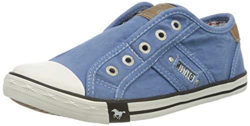 Mustang Damen 1099-401 Sneakers - Blau (hellblau 88) , 40 EU