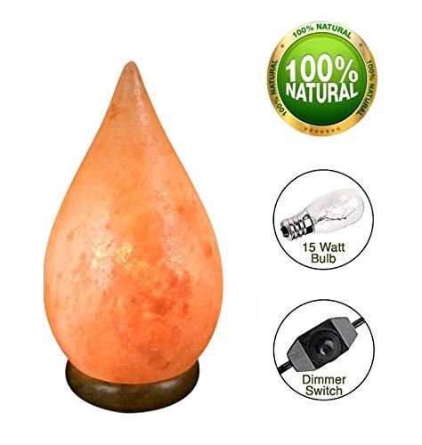 Zout Lamp Tear-Drop 2-3 kg - oranje kleur