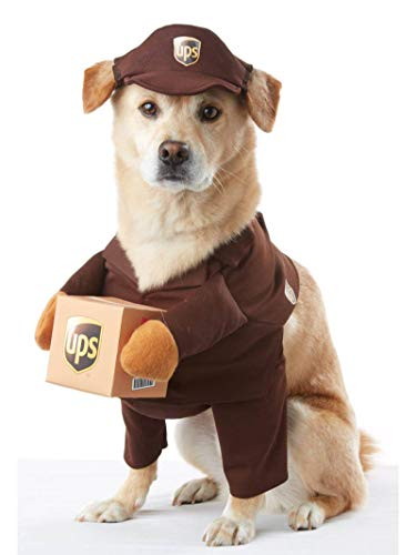 BROWN_UPS PAL DOG COSTUME, Large