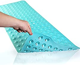 HOLY HIGH Bathtub Mats Non Slip Anti Mold,Bathtub and Shower Mat,with Suction Cup and Drain Hole Bath Mat Floor Mat for The Elderly and Children, Baby Bath Mat,(BPA, Latex, Phthalate Free)