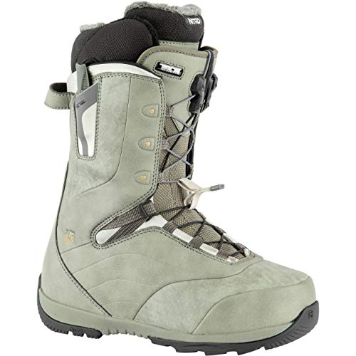 Nitro Damen Crown TLS Boot´21 Snowboardboot, Stone Grey, 260