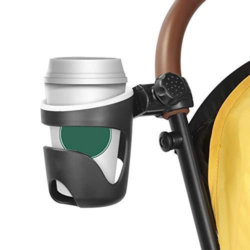 Wangza - Portavasos universal para cochecito de bebé o bicicleta, soporte para bebidas