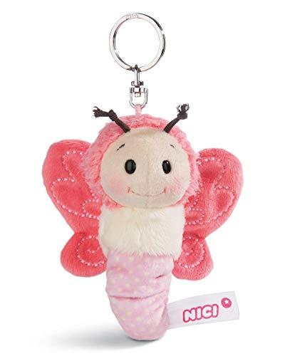 Nici - 44931 - Schlüsselanhänger, Schmetterling, 10cm, rosa