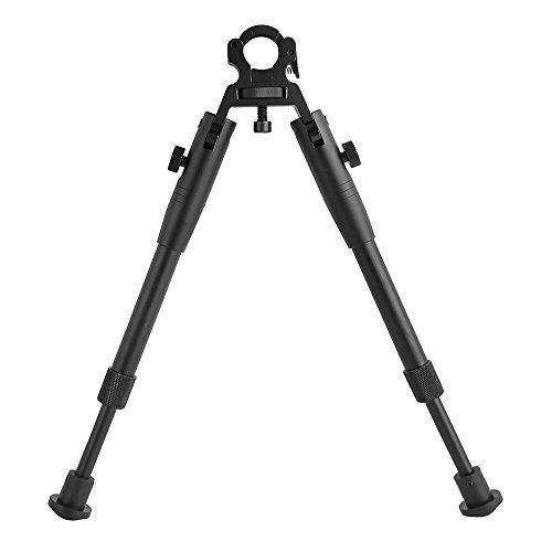 "Triplespark Rifle Tactical Accessoires 8""-10"" Barrel Bipied Universel 13-20mm avec Double-Lock Clamp Wheel"