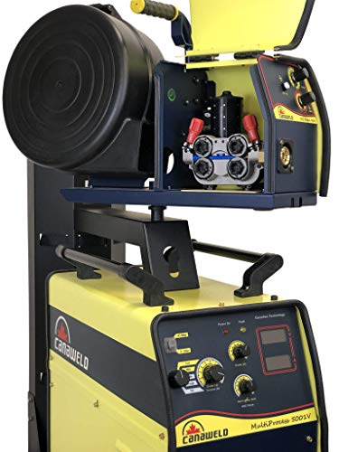 MIG Welder 400 Amp 3 phase 460-480 Volt Multi process 5001 Heavy Duty TIG Stick Flux Cored Welder by Canaweld ARC MIG TIG Stick Flux Cored Welding Machine