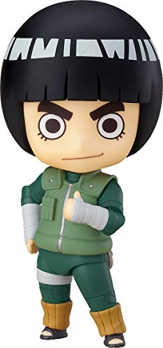 Good Smile Naruto Shippuden: Rock Lee Nendoroid Action Figure, Multicolor