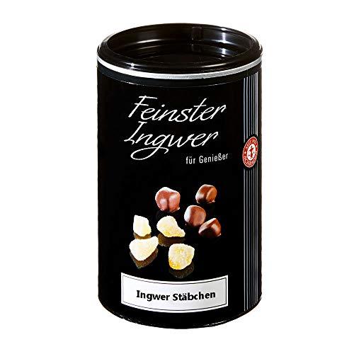 Ingwer-Stäbchen in Zartbitterschokolade - Ingwer Konfekt (200g)