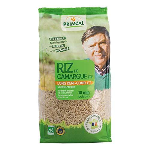Priméal Riz de Camargue Long 1/2 Complet 1 kg