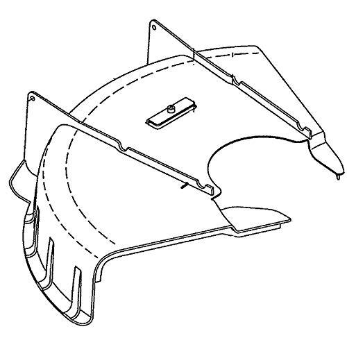 Best Deals! Husqvarna 584953201 Line Trimmer Bottom Deflector Genuine Original Equipment Manufacture...