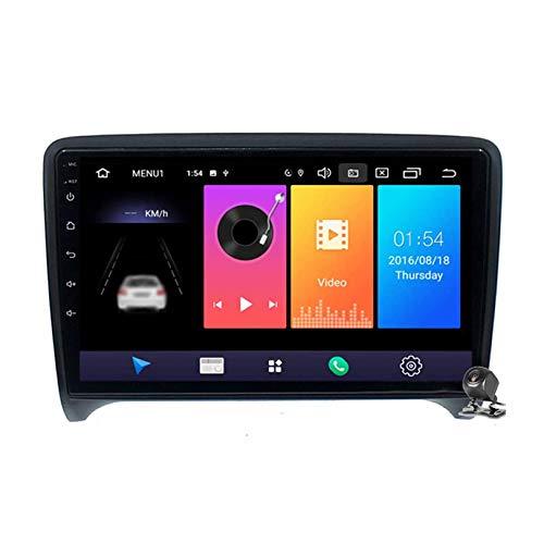 JIBO Android 10 Auto Radio Navegacion GPS Unidad Principal Bluetooth DSP SWC Reproductor Multimedia Estéreo Automóvil Navegación por Satélite para TT MK2 8J 2006-2014 Video Receptor,4 Core,2+32G