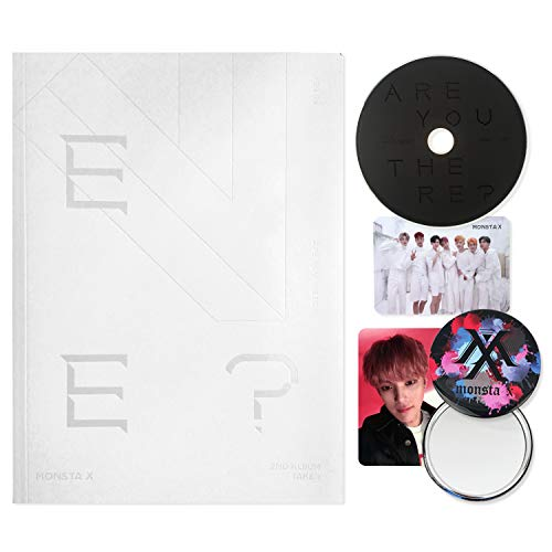 MONSTA X 2nd Album : TAKE.1 - Are You There ? [ IV ver. ] CD + Photobook + Photocards + FREE GIFT / K-pop Sealed