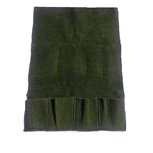 Planztasche 4er hoch XXL Teichtasche Pflanzhilfe Teich Korb Tasche Moos Matte 100x 100 cm