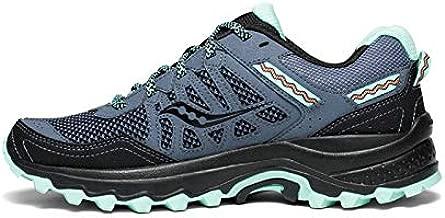 Saucony Women's Excursion TR12 Sneaker, Aqua/Black, 7.5 M US
