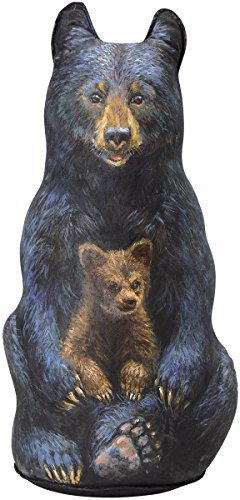 Black Bear Doorstop, Decorative Doorstopper, Animal Door Stop