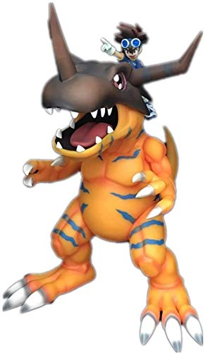 ZPTECH Exquisitas figuras de acción Digimon Figura YAGAMI TAICHI & Greymon Figura de anime Figura de acción Feng (color: por defecto)