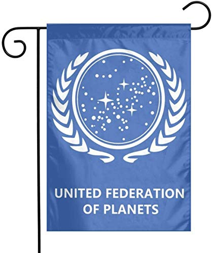 'N/A' United Federation of Planets Garden Flag and Yard Banner
