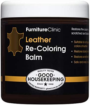 Best Furniture Clinic Leather Recoloring Balm - Leather Color Restorer for Furniture, Repair Leather Colo