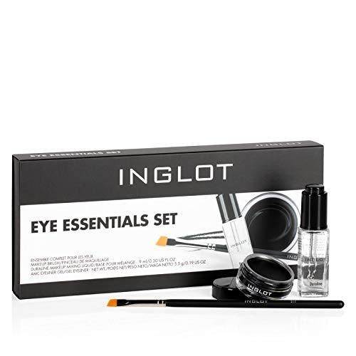 Inglot Essentials Augen Make-Up Set Das Set beinhaltet: Duraline, AMC Gel-Eyeliner 77, Makeup Pinsel 31T