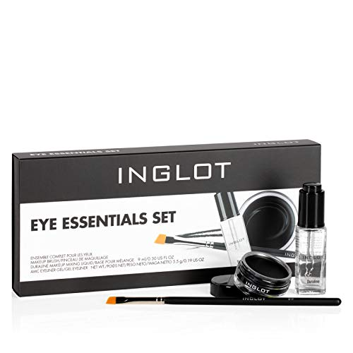Inglot Essentials Augen Make-Up Set Das Set beinhaltet: Duraline, AMC Gel-Eyeliner 77, Makeup Pinsel 31T
