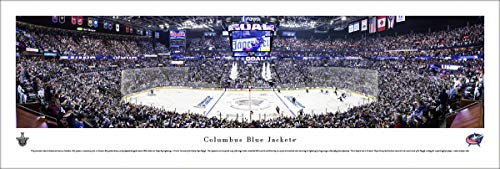 Columbus Blue Jackets NHL Framed 8x10 Photograph Team Logo and Hockey Puck