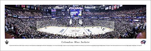 Columbus Blue Jackets NHL Framed 8x10 Photograph Team Logo and Hockey Puck