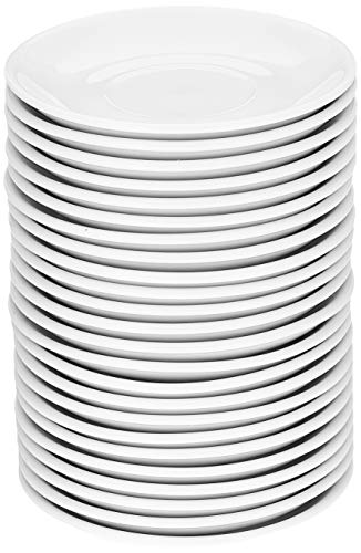 Athena hotelware CC202 platillo, blanco (Pack de 24)