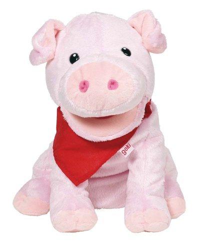Goki 51782 - Handpuppe Schwein Snelly