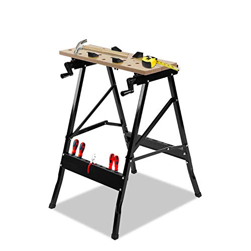 Portable Foldable Workbench Stand, Multifunctional Workshop...