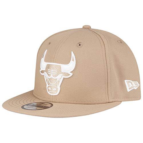 New Era 9Fifty Snapback Cappellino - Chicago Bulls cammello beige