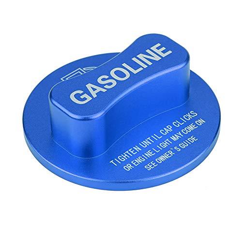 Longzhou Coche Gasolina Gasolina Tanque de Combustible decoración Tapa embellecedor Ajuste Universal para Mercedes Benz(Azul)