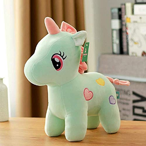 Exaltedcollection Unicorn Stuffed Soft Toy Gift for Kids- 25 cm (Multicolor)