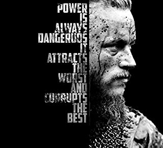 Get Motivation Vikings, a Historical Drama Television Series, Ragnar Lothbrok, Lagertha, 12 x 18 inch Poster