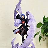 LIFHl 39CM Exquisite PVC Removable Limited Edition Figure Naruto Konan Akatsuki Ninjutsu Paper Dance Anime Game Character Model Static Character Adult Toy Figure Models Figurines