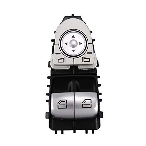 Interruptor de ventana eléctrico actualizado para Mercedes Vito W447 2015-2018 A2059050302 2059050302 embellecedor interior (negro)