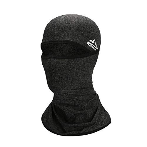su-luoyu Atmungsaktives Eisseiden Sonnenschutz Kopftuch Multifunktionales Winddichtes Gesichts Mund Nackenschutz Schutzschild Für Outdoor Sportarten