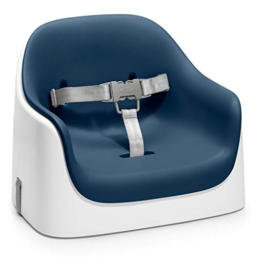 OXO Tot Nest Booster Seat with Removable Cushion, Navy