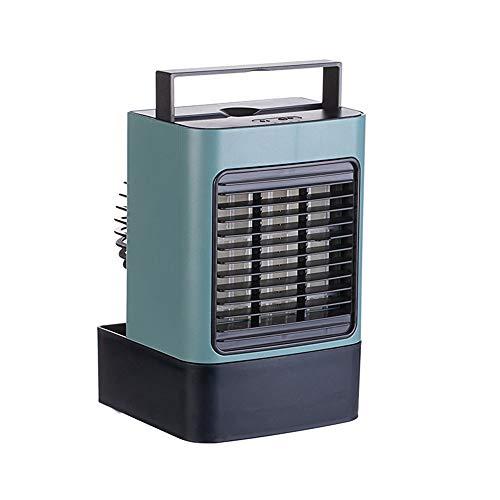 Aire acondicionado portátil, refrigerador de aire acondicionado móvil, refrigerador pequeño y humidificador de aire acondicionado, máquina de aromaterapia para interior / exterior green