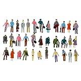 Ogquaton 100pcs Painted Model Train Passagier Menschen Figuren Maßstab 1: 150 Hohe Qualität