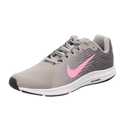 Nike Wmns Downshifter 8, Scarpe Running Donna, Grigio (Gunsmoke/Sunset Pulse-Atmosphere Grey-Black-White 004), 37.5 EU