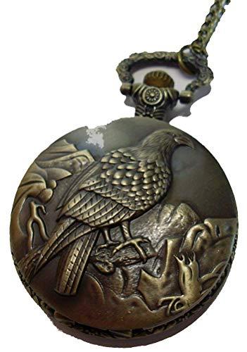 Taschenuhr mit Adler